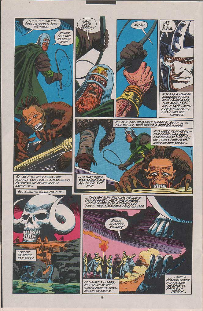 Conan the Barbarian (1970) Issue #263 #275 - English 12
