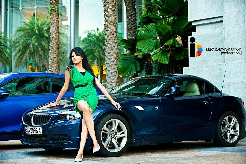 Melanie Cami on bmw