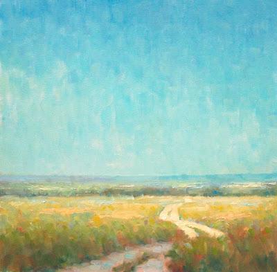 Steve Allrich: New England landscape painting : Midsummer