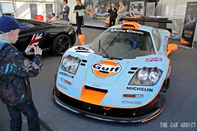 Oldtimer Grand Prix 2013 Nurburgring McLaren F1