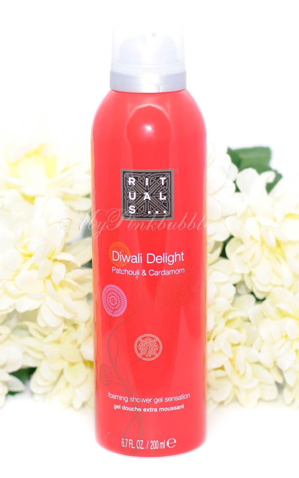 rituals diwali foaming shower gel