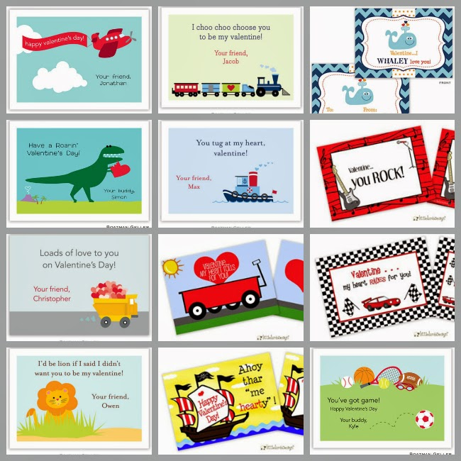 More Than Paper Blog Classroom Valentine Exchange Cards – Valentine Cards for Classroom