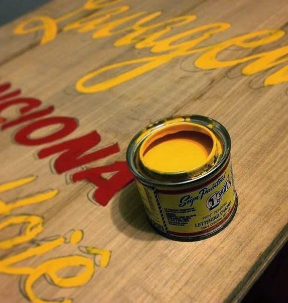 DAL, Diego Lemos, lettering, caligrafia, cartazes, louças, feito a mão, escrito.
