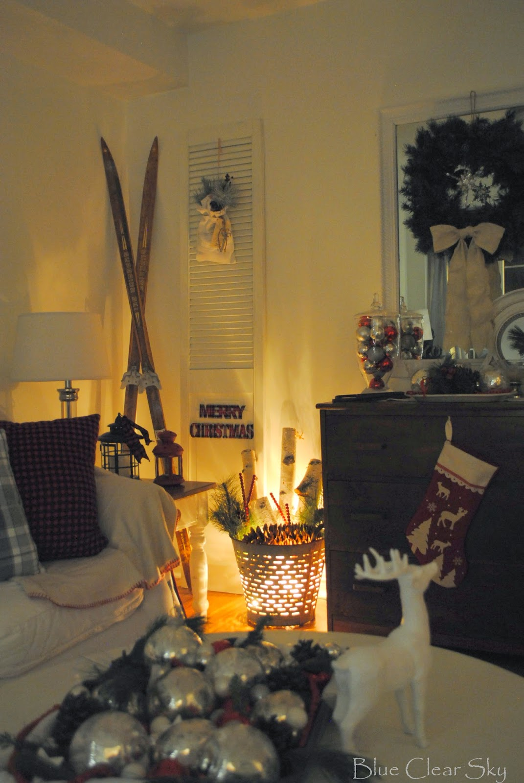 This Year I Decorated Our Home With A Cozy Northern Cabin Feel. Rustic And  Natural With Lots Of Neutrals And Greenery. Red, White, Black And Grey With  ... Part 82