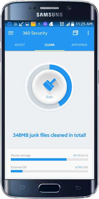 Clean Android 360 Security செயலி