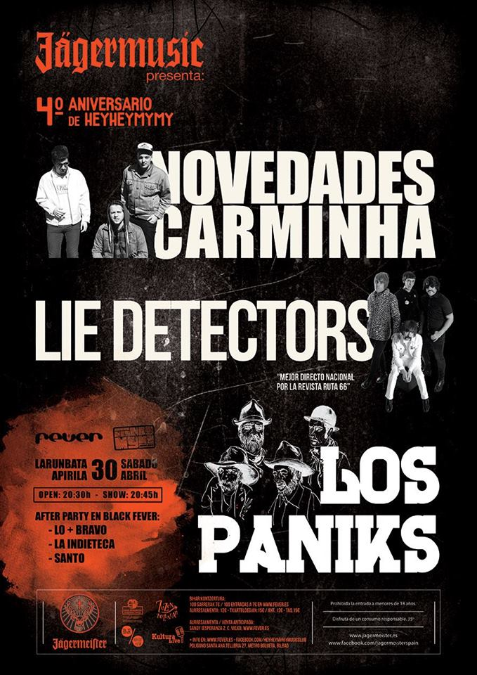 RECOMENDACIÓN!!! - 30/04/16<br> Fever - Bilbao