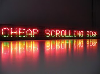 scrolling signs