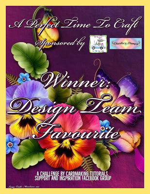 Karen's design team pick January 2020 Sandra's design team pick for February