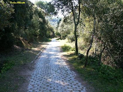 El Camí del Foment o del Castellvell. Autor: Carlos Albacete