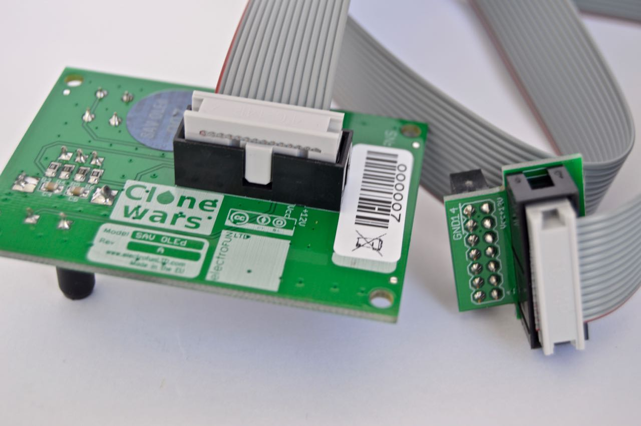 Electrofun Ltd Sav Old Ribbon Cable Schematic It Connects To The Main Controller Using A 14 Wire 3m Box Connector Lcd Has Been Tested With 15m Without Glitches
