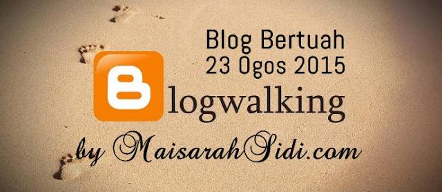 maisarahsidi.com, blogwalking