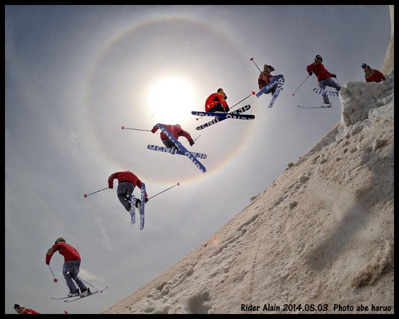 ALAIN ski PHOT ABE HARUO  Hchimantai  ON3P