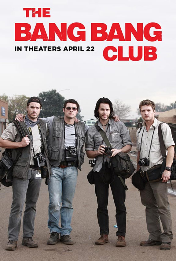 celebrities movies and games the bang bang club movie poster. Black Bedroom Furniture Sets. Home Design Ideas