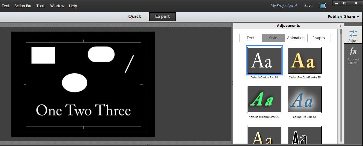 how to set adobe xi pro default font size