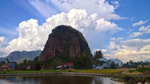 Wisata Potensi Bukit Bulek di Payakumbuh