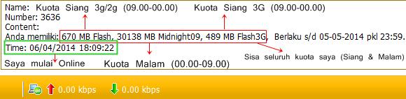 cara agar kuota siang Simpati loop tetap utuh tidak berkurang 1 kb pun