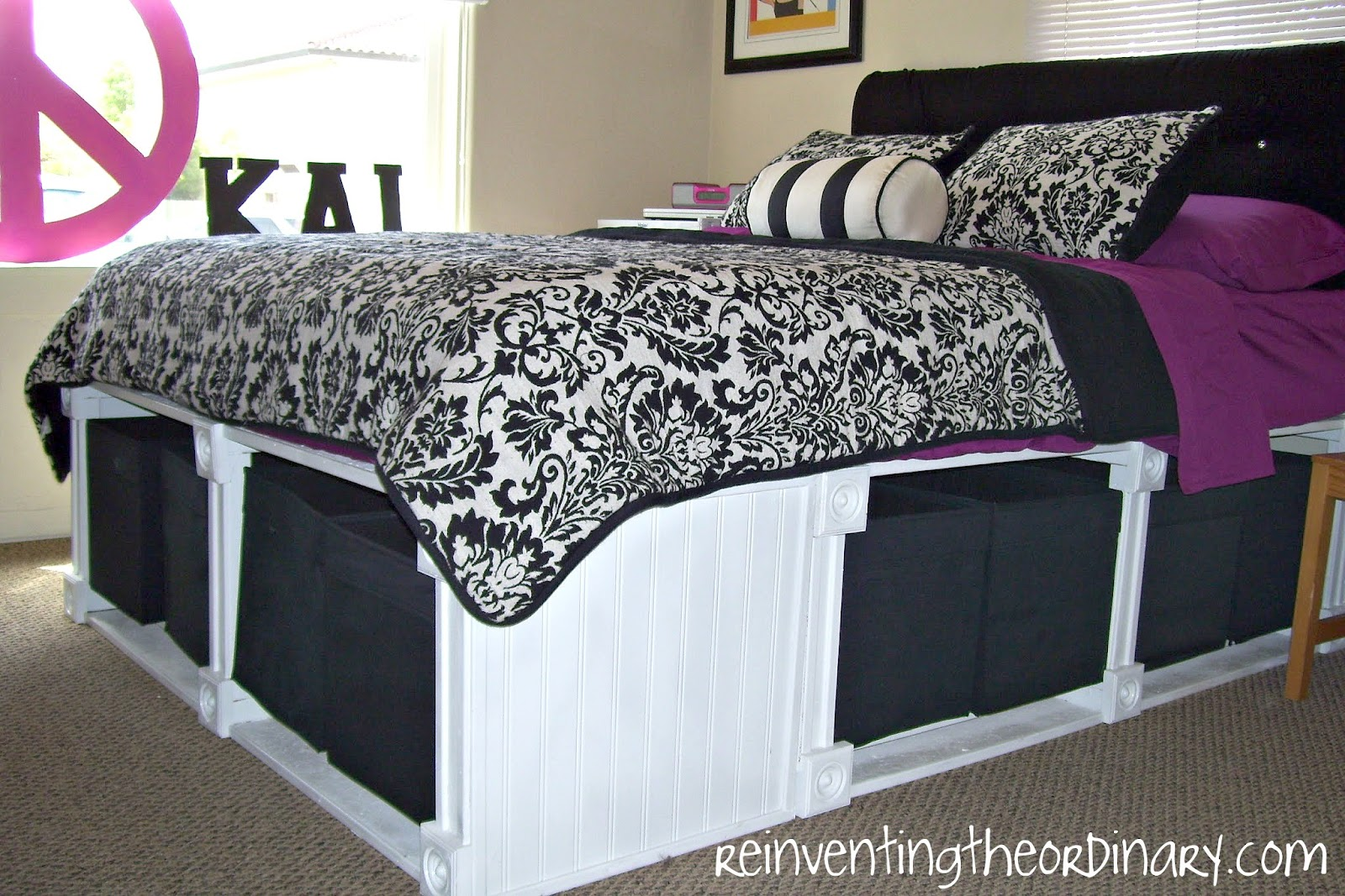 Reinventing the Ordinary: Pottery Barn Knockoff Bed
