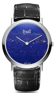 Montre Piaget Altiplano Cadran en lapis-lazuli référence G0A37200