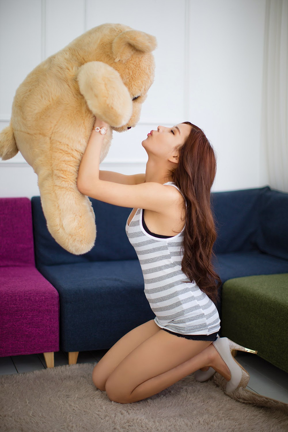3 Morning Photo Session With Gorgeous Yeon Ji Eun - very cute asian girl-girlcute4u.blogspot.com