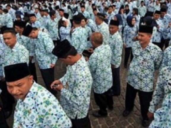Ratusan PNS di Bogor bolos kerja
