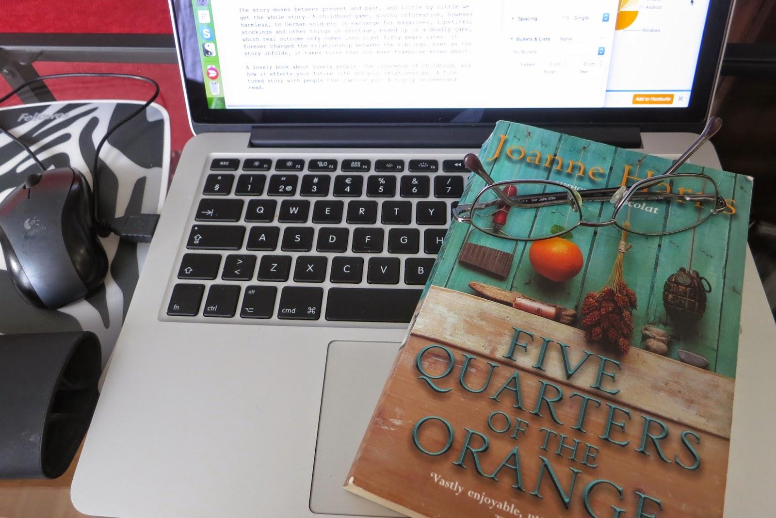 five quarters of the orange harris joanne