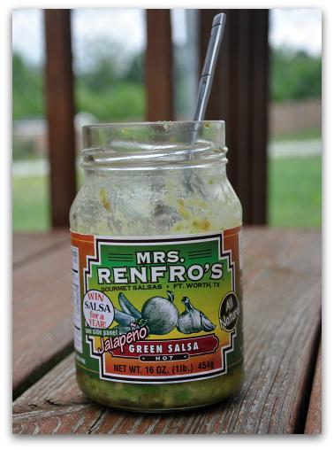 guac in a jar