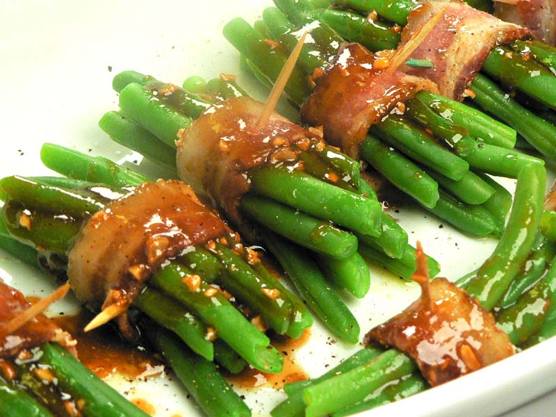 Bacon Wrapped Green Beans - Lake Lure Cottage KitchenLake Lure Cottage ...