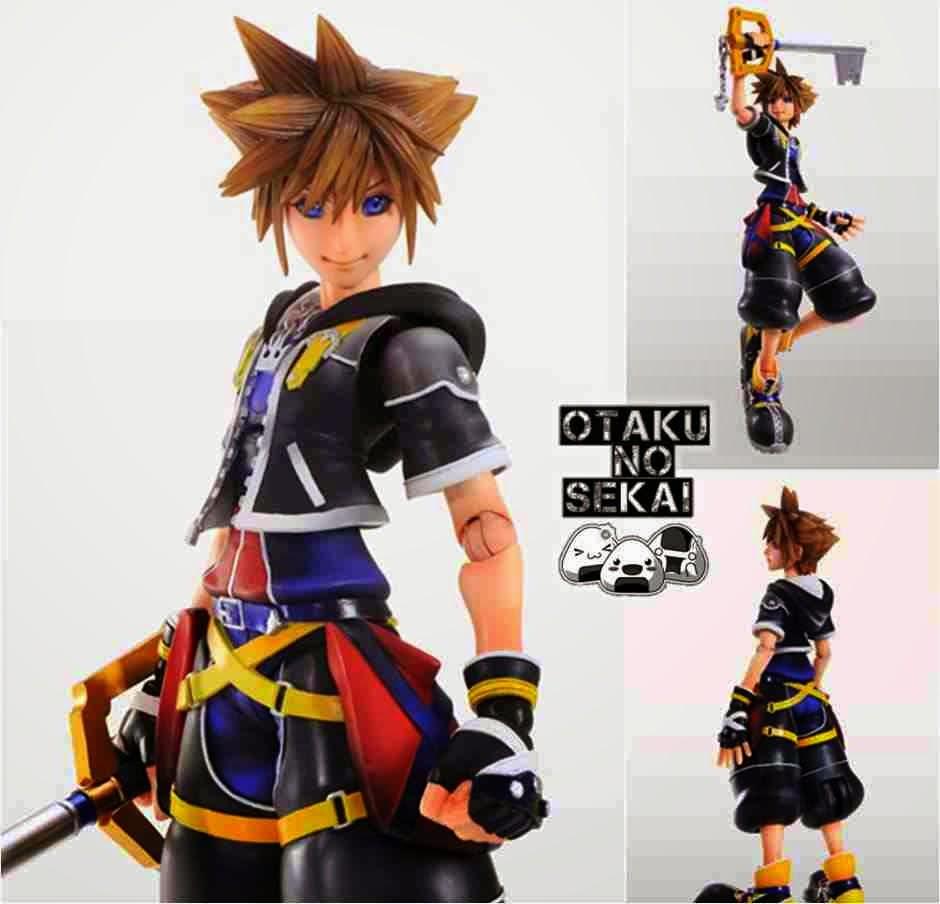 Play Arts Kai Kingdom Hearts II Sora