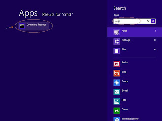 windows 8 search command run dxdiag