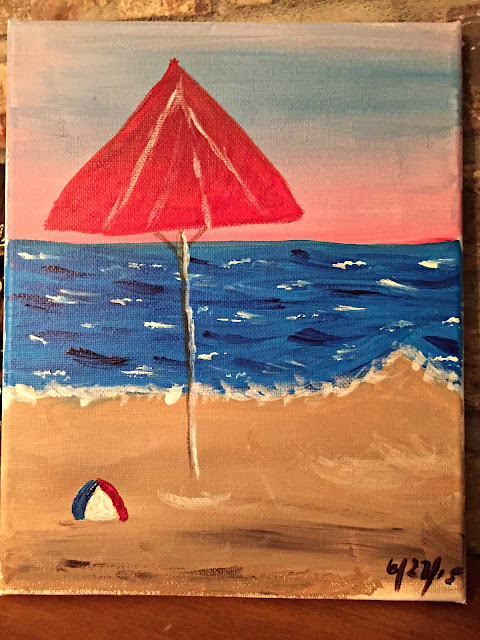 simple-beach-painting