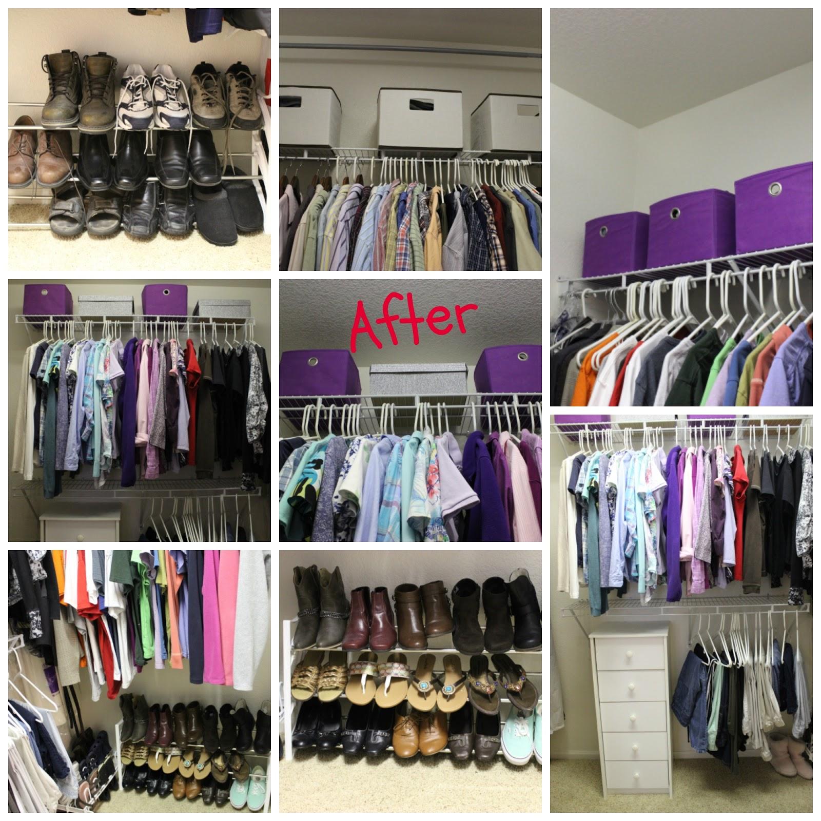 Master Closet Makeover On A Budget