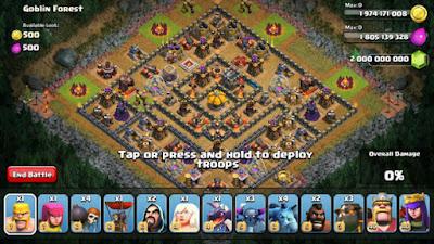 clash of clans mod apk versi baru