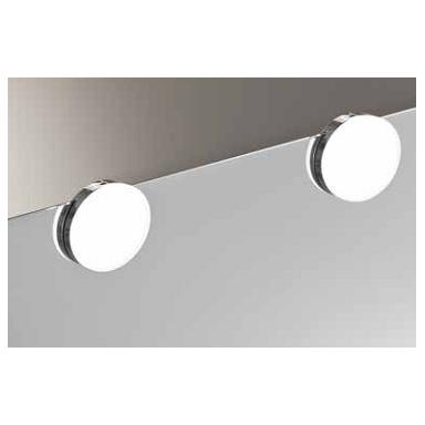 foco luz led baño redondo espejo