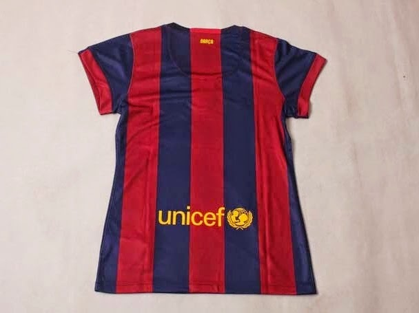 2014-2015 Barcelona Home Nike Ladies Shirt