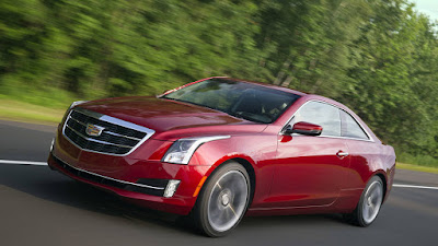 2016 New Cadillac ATS Coupe Test Drive Front view