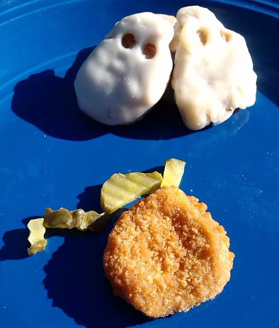 How to Make Chicken Nugget Ghosts Recipe