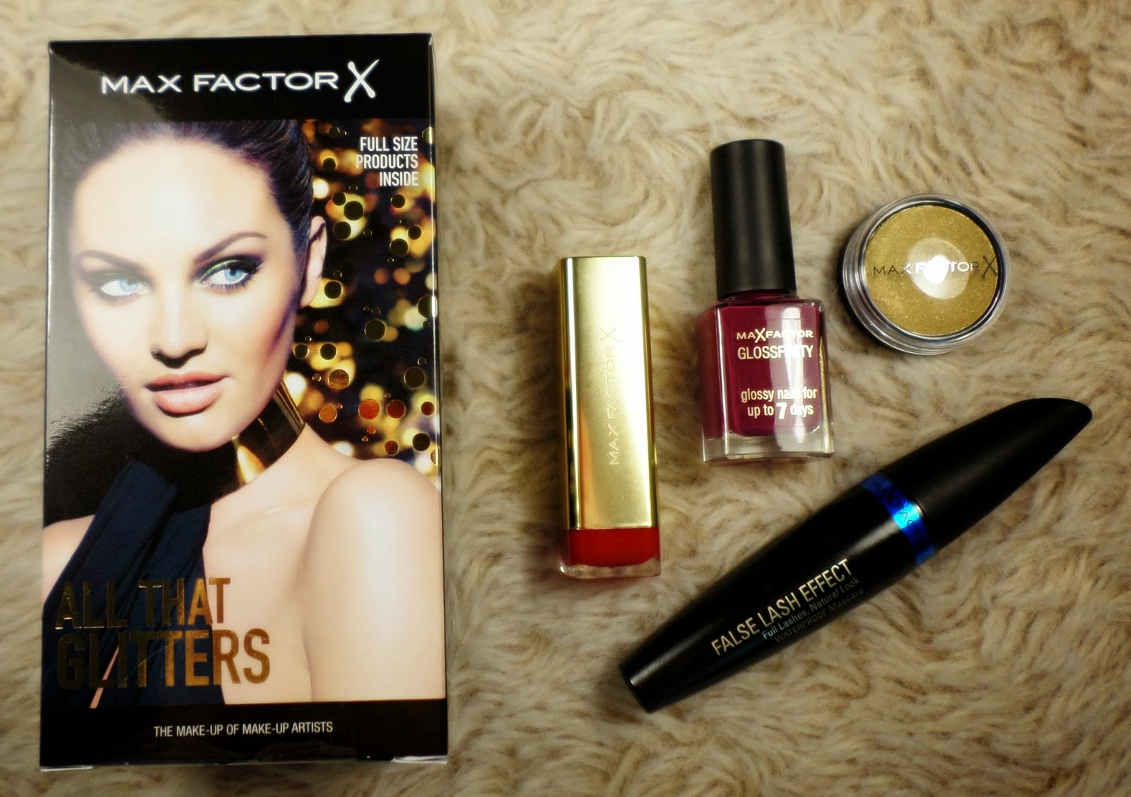 Max Factor All That Glitters Free Christmas Gift With Purchase 2014