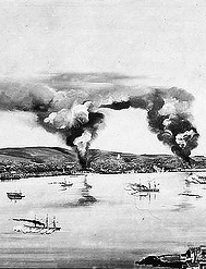 BOMBARDEO DE VALPARAISO, 31 marzo 1866