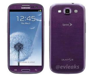Samsung Galaxy S 3 Ungu Akan Hadir
