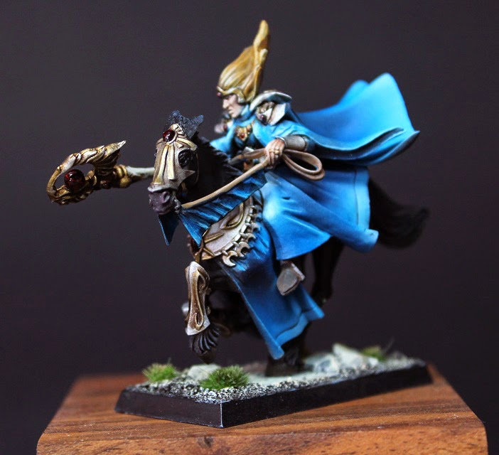 5th  Dimension: Speedpainting: High Elves