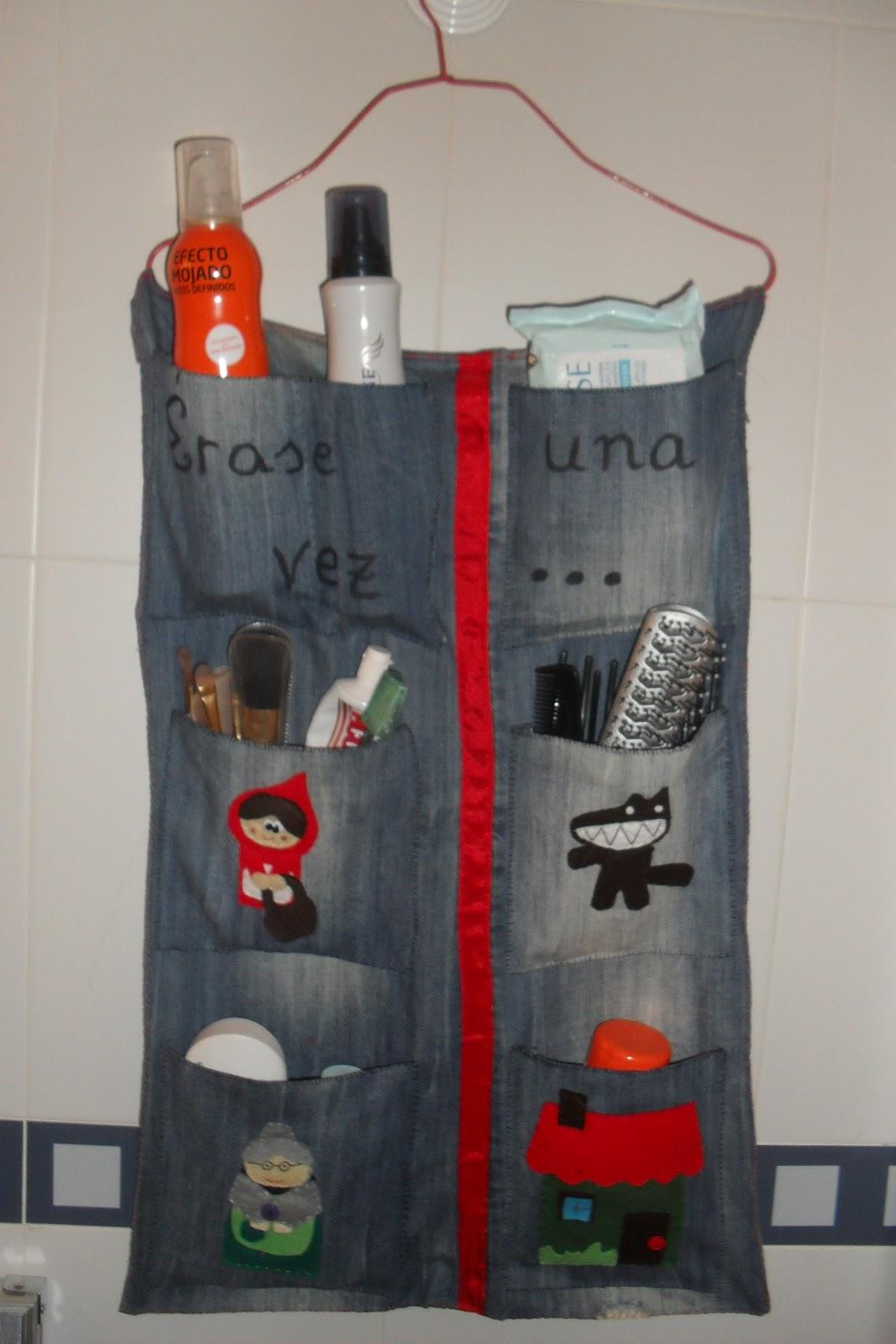 Hacer Organizador De Baño:El Mundo de Brochilda: Organizador para el baño!