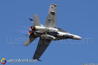 CF-18 Hornet de la Royal Canadian Air Force (RCAF)