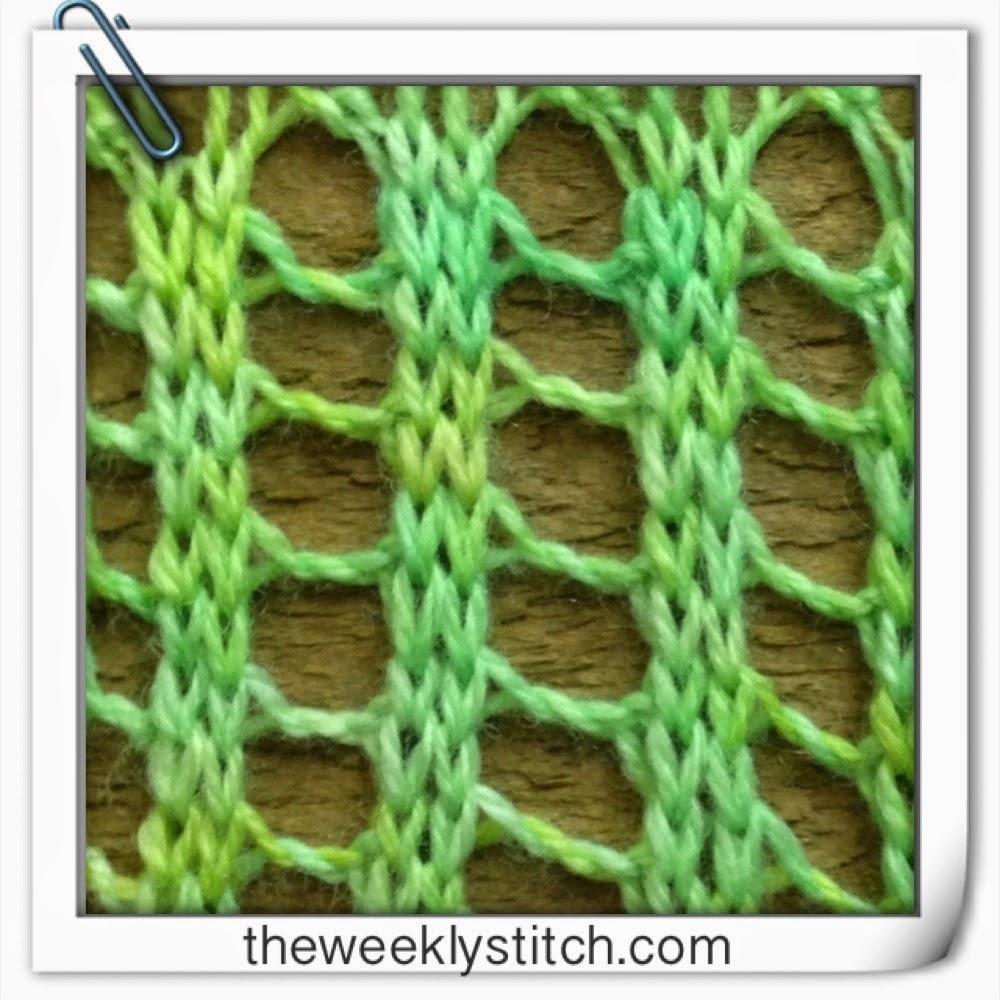 Twisted Ladder Stitch The Weekly Stitch