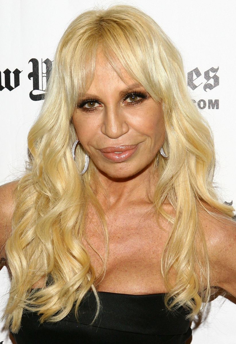 Donatella Versace English