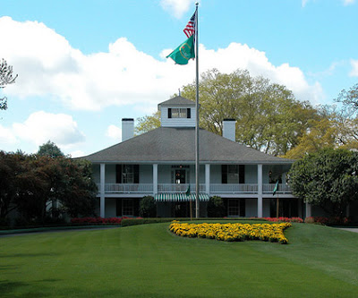 Masters Clubhouse in Augusta