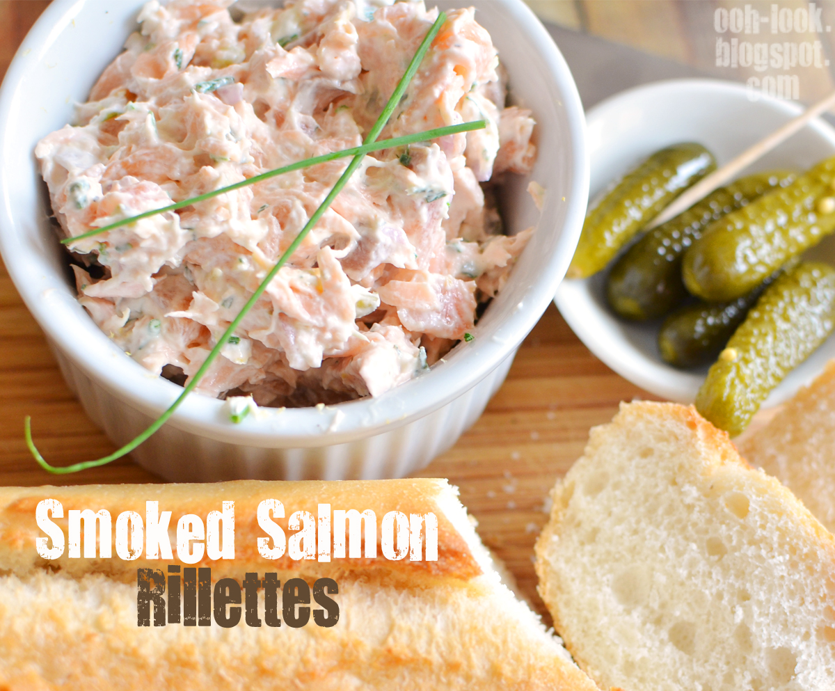 Ooh, Look...: Le fancie: Smoked Salmon Rillettes
