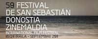 Logotipo de la 59 edición del Festival de Cine de San Sebastián