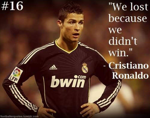 Charming Quotes About Ronaldo Messi Funny. QuotesGram