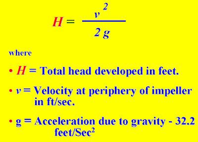 centrifugal+pump+formula Centrifugal Pumps: