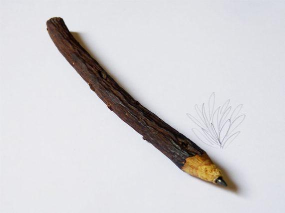Inventan lápiz comestible